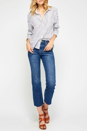 Gentle Fawn Summer Stripe Blouse - Product Mini Image
