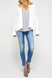 Gentle Fawn Summer White Cardigan - Product Mini Image