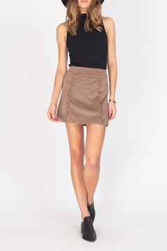 Shoptiques Product: Talon Suede Skirt