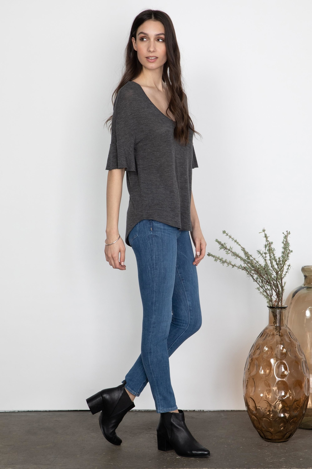 Gentle Fawn Talus Flutter Sleeve - Front Full Image
