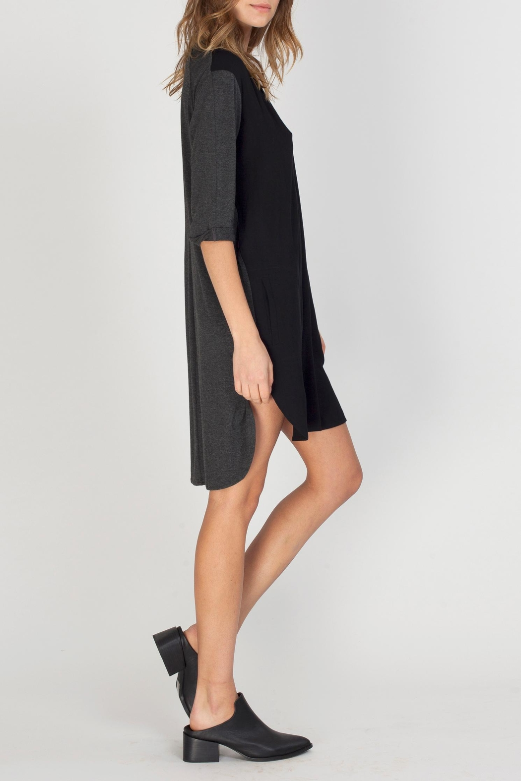 Gentle Fawn Taye Two Tone Dress - Front Full Image