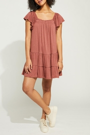 Gentle Fawn Textured Square Neckline Dress - Product Mini Image