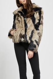Gentle Fawn Thick Faux Coat - Product Mini Image