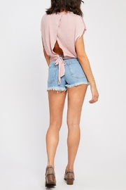 Gentle Fawn Tie Back Blouse - Side cropped