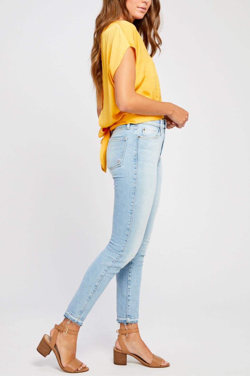 Gentle Fawn Tie Back Blouse - Side Cropped Image