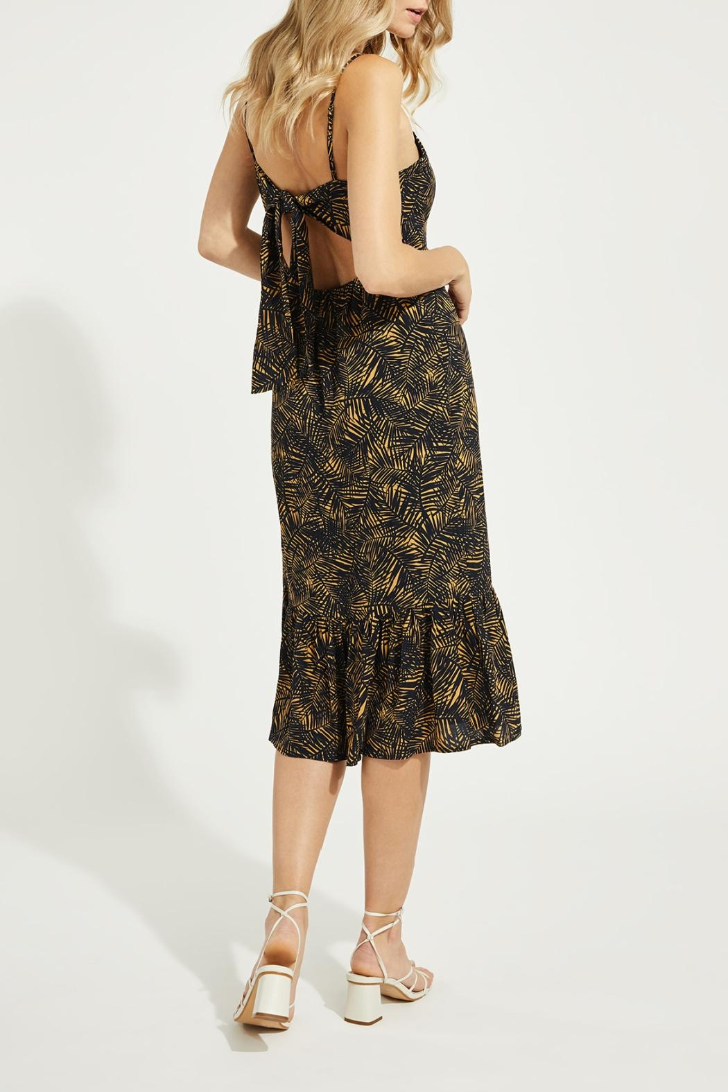 Gentle Fawn Tiered Hem Dress - Back Cropped Image