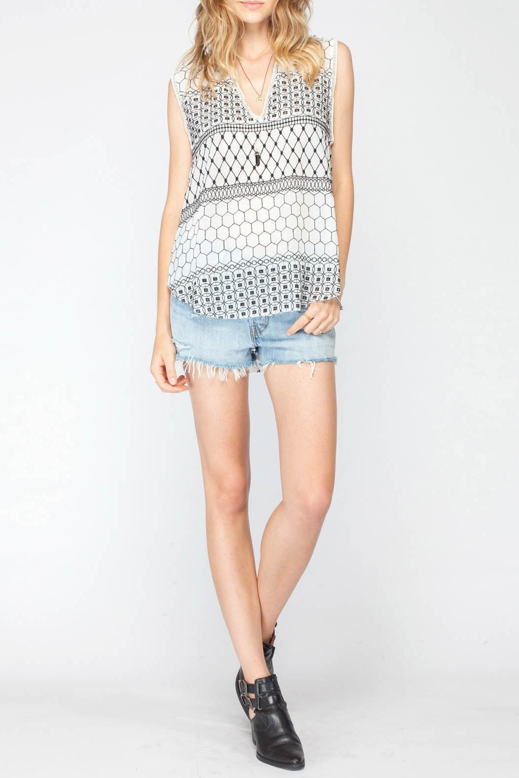 Gentle Fawn Torero Sleeveless Top - Main Image