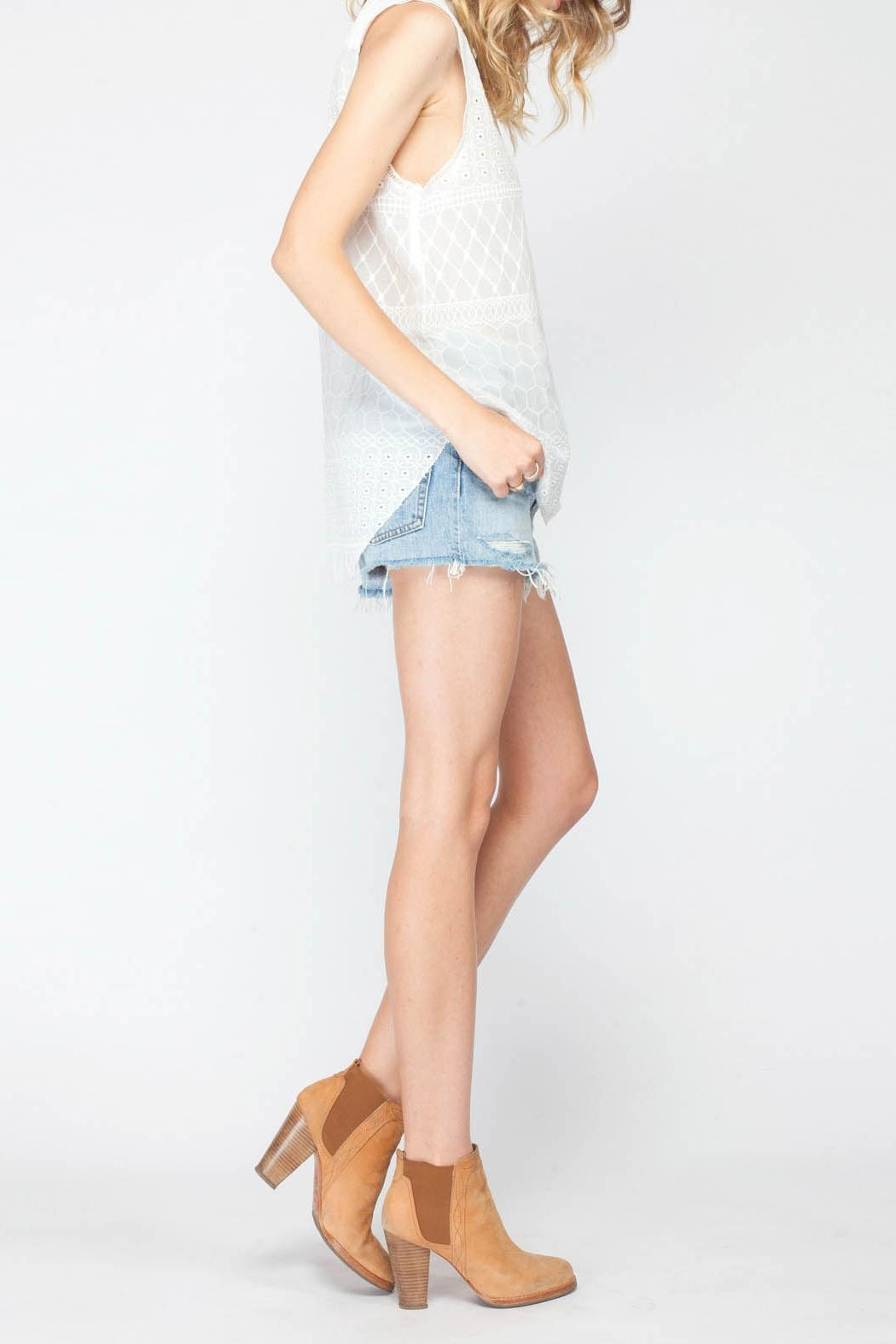 Gentle Fawn Torero Sleeveless Top - Front Full Image