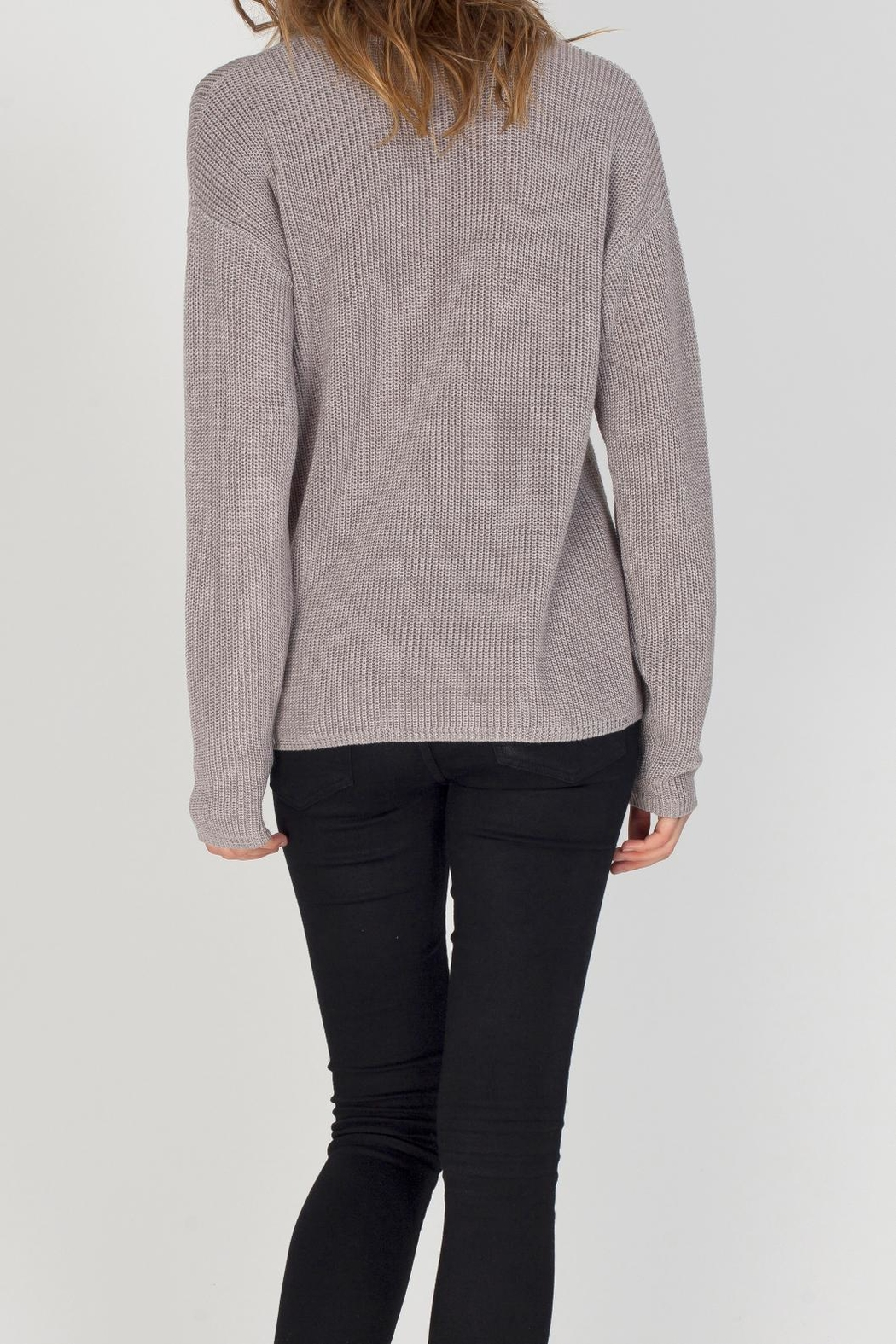Gentle Fawn Tucker Sweater - Side Cropped Image