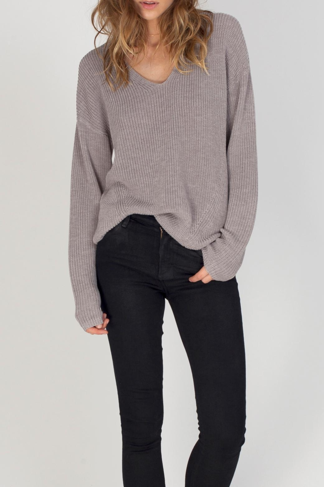 Gentle Fawn Tucker Sweater - Front Cropped Image