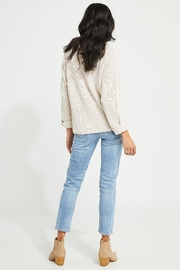 Gentle Fawn Tucker V Neck Sweater - Side cropped