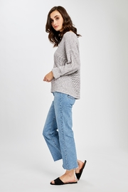 Gentle Fawn Tucker V Neck Sweater - Front full body