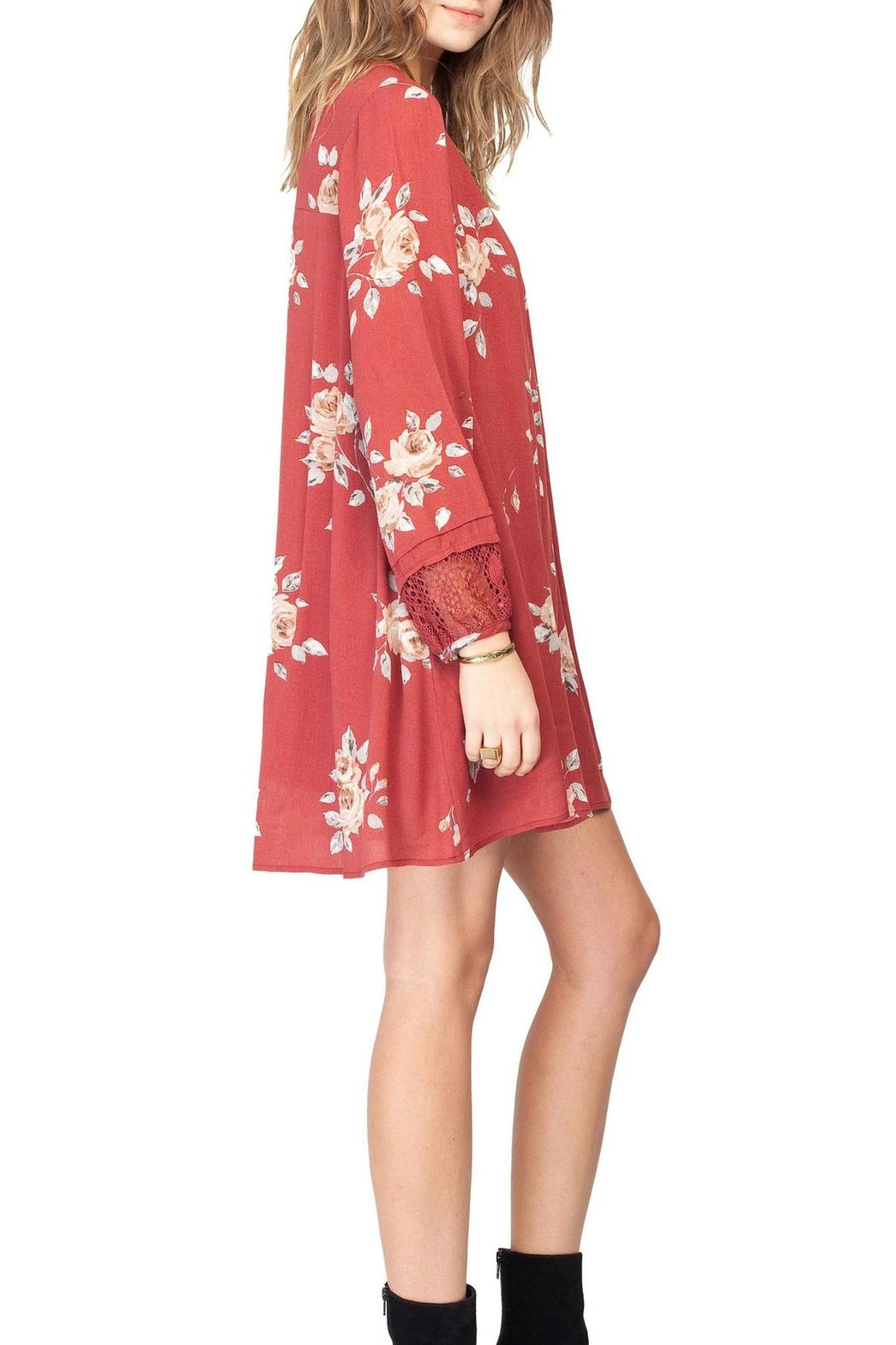 Gentle Fawn Utopia Dress - Side Cropped Image