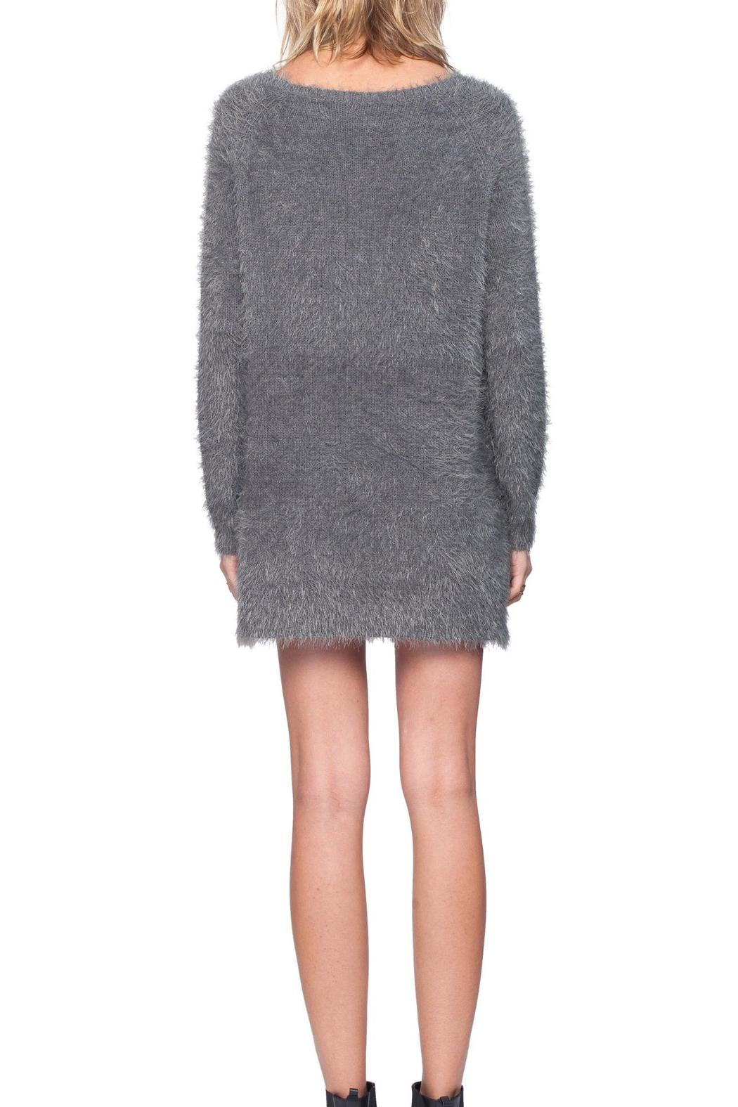 Gentle Fawn V-Neck Alpine Sweater - Back Cropped Image