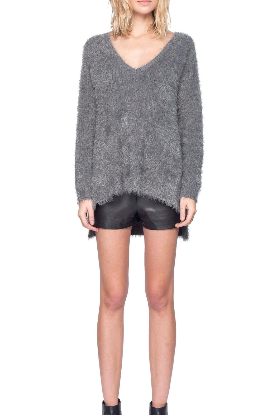 Gentle Fawn V-Neck Alpine Sweater - Front Full Image