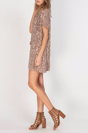 Gentle Fawn V-Neck Printed Dress - Side cropped
