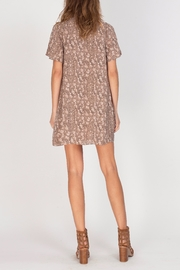 Gentle Fawn V-Neck Printed Dress - Back cropped