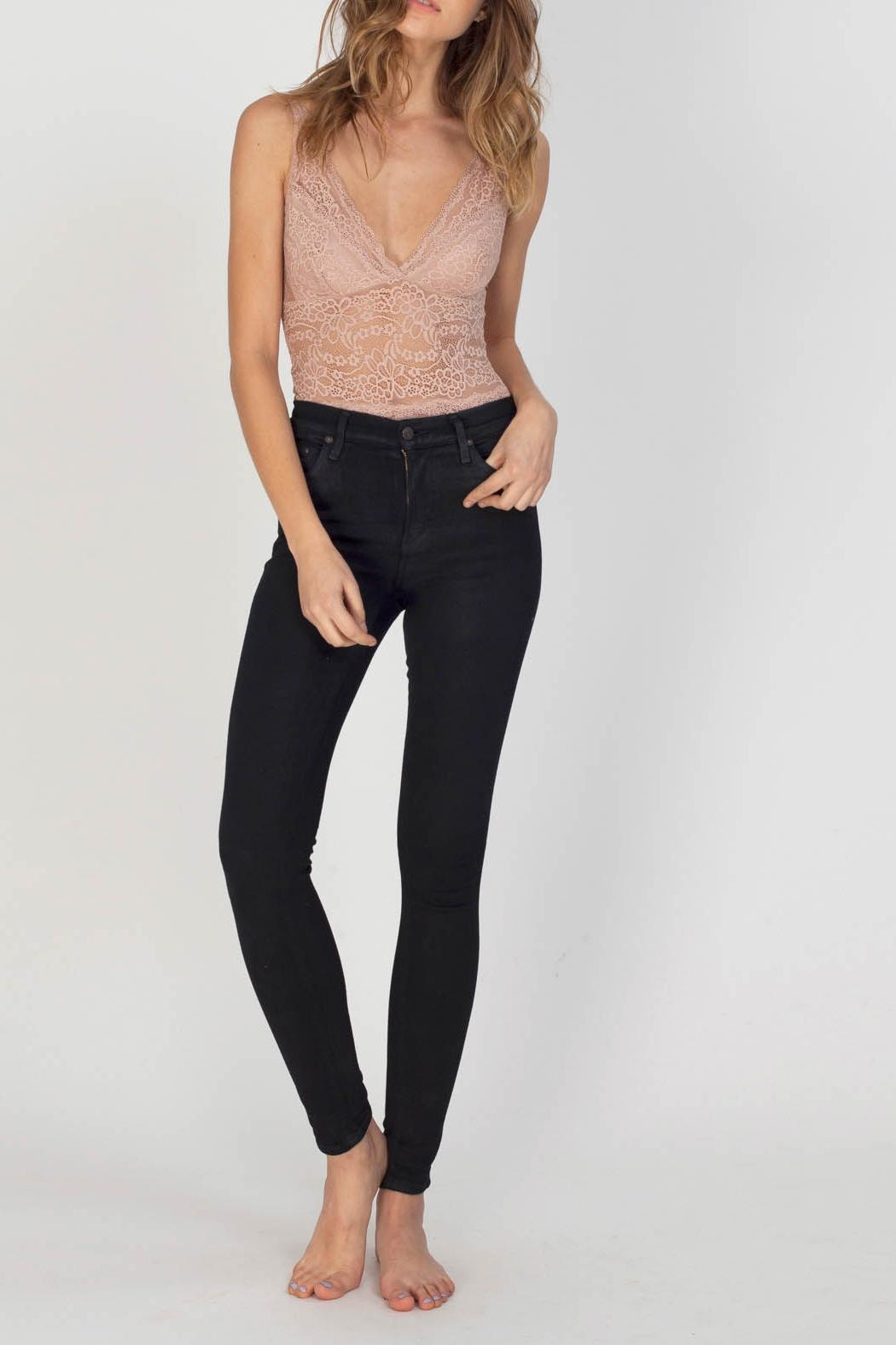 Gentle Fawn Valentine Bodysuit - Back Cropped Image
