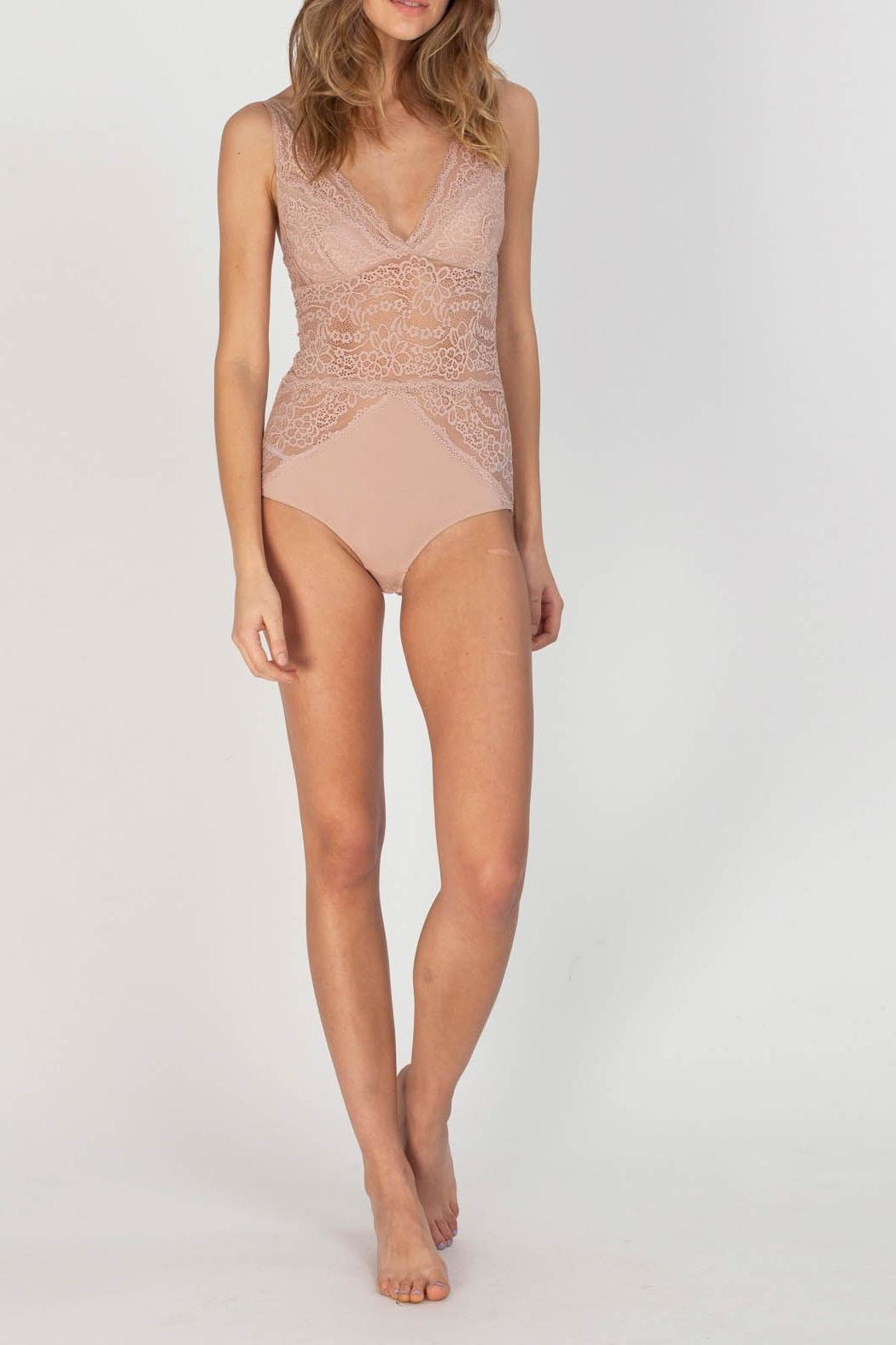 Gentle Fawn Valentine Bodysuit - Front Cropped Image