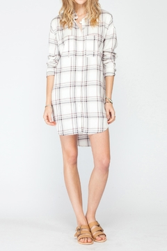 Shoptiques Product: Voyage Plaid Dress