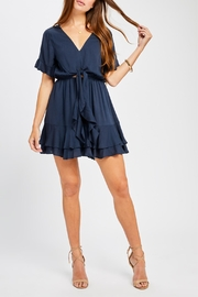 Gentle Fawn Waist Tie Dress - Product Mini Image