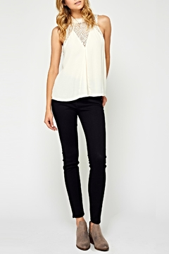 Gentle Fawn White Lace Blouse - Product List Image