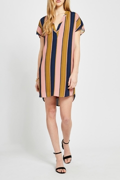 Gentle Fawn Wide Stripe Shirtdress - Product List Image