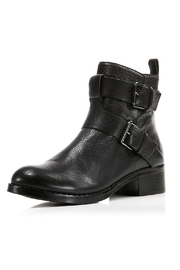 Gentle Souls Black Moto Boot - Front cropped