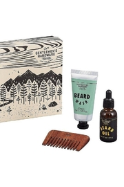 Wild & Wolf Gentlemen's Hardware Beard Buddy Kit - Product Mini Image
