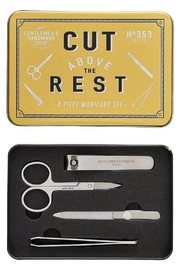Wild & Wolf Gentlemen's Hardware Manicure Set In Tin - Product Mini Image