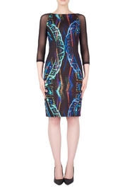 Joseph Ribkoff Geo Color Dress - Product Mini Image