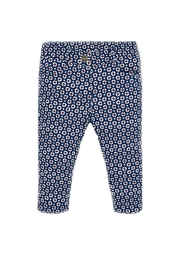 Mayoral Geo-Dot-Pattern Girls Trousers - Front cropped