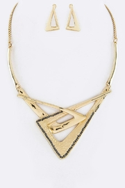 Nadya's Closet Geo Interlock Necklace-Set - Product Mini Image