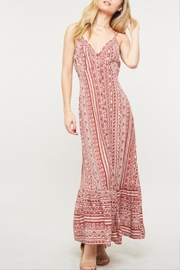 Promesa USA Geo Pattern Maxi-Dress - Product Mini Image
