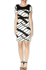 Marvy Fashion Geo Print Dress - Product Mini Image