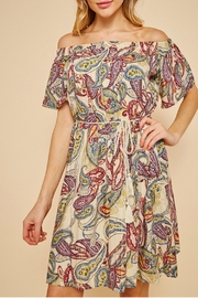 LLove USA Geo Print Dress - Product Mini Image