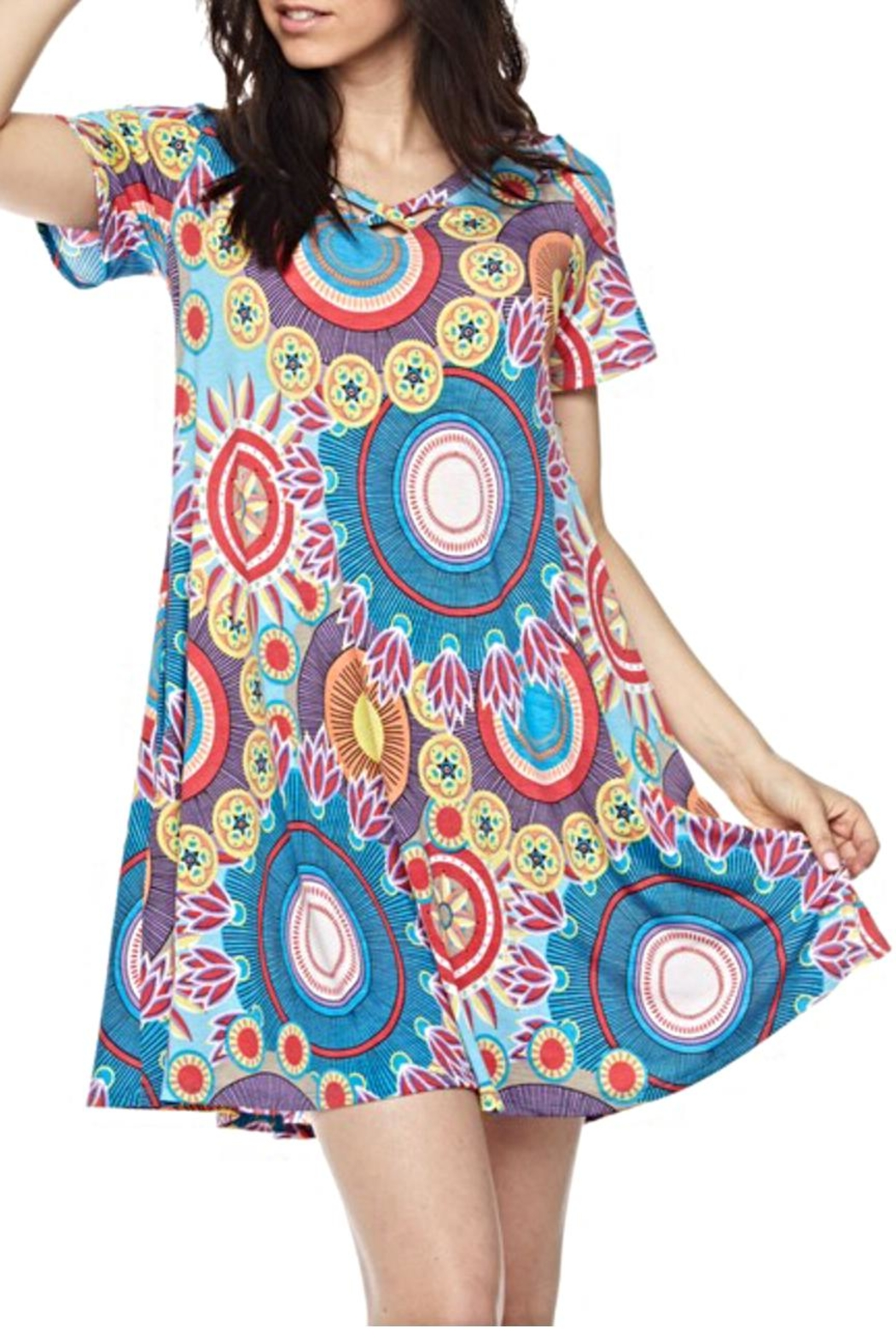 KITTY COUTURE  Geo Print Tunic - Main Image