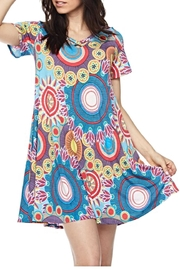KITTY COUTURE  Geo Print Tunic - Product Mini Image