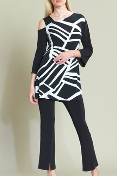 Clara Sunwoo Geo-Stripe Top - Alternate List Image