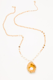 Nakamol  Geode Pendant Necklace - Front cropped