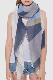 Wild Lilies Jewelry  Geometric Blue Scarf - Product Mini Image