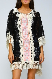 Velzera Geometric Crochet-Tassel Dress - Product Mini Image