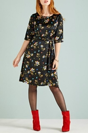 Yumi Geometric Floral Dress - Product Mini Image