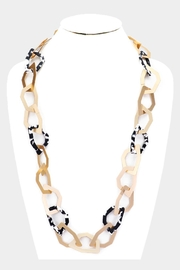 Embellish Geometric Link Necklace - Product Mini Image