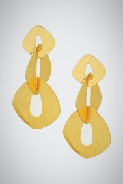 Embellish Geometric Links Earrings - Product Mini Image