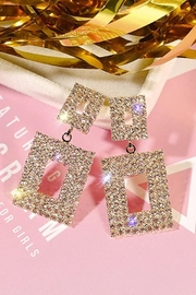 Paparazzi Geometric Luxury Earrings - Product Mini Image
