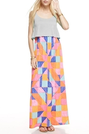 Compendium boutique Geometric Maxi Dress - Product Mini Image