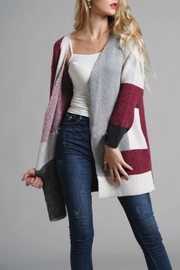 Cloudwalk Geometric Pattern Cardigan - Product Mini Image