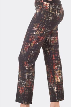Jose[h Ribkoff Geometric print cropped pants - Product List Image