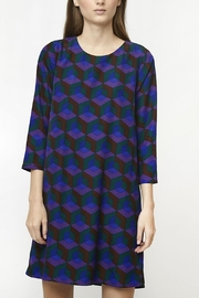 Compania Fantastica Geometric Print Dress - Product Mini Image